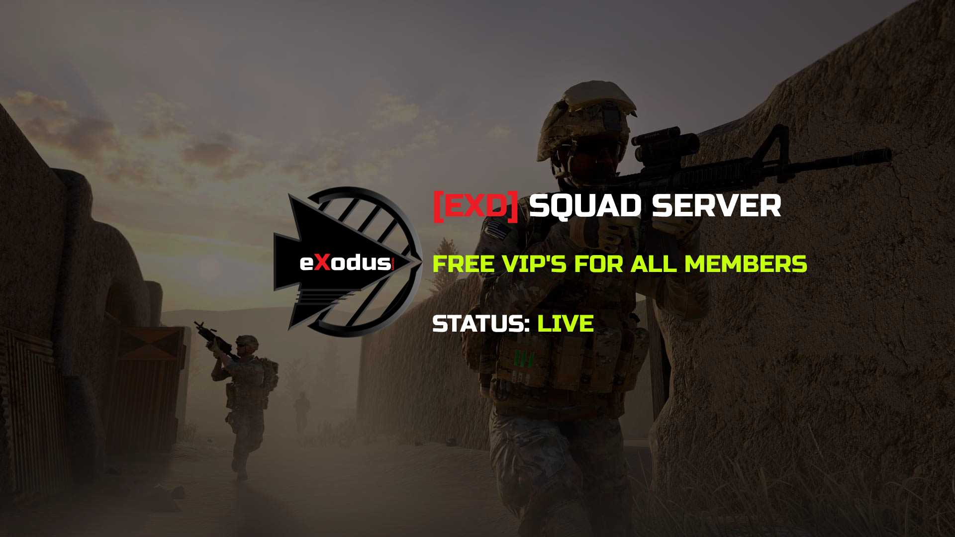 [EXD] New Squad Server