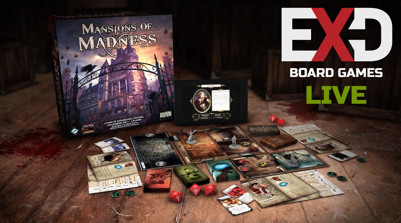 Exodus Launches Board Games